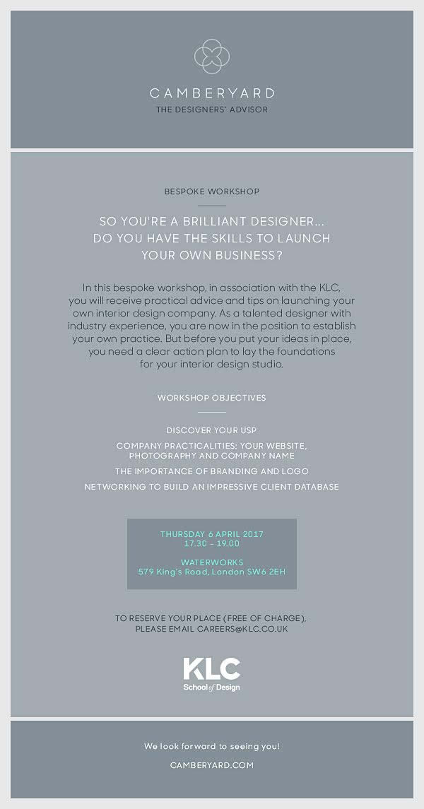 so youre a brilliant designer do you have the skills to launch your own business